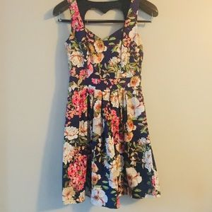 Have fit & flare floral dress. Size Small